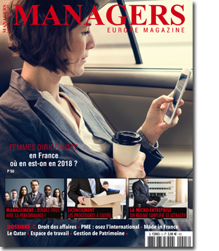 Couverture Magazine Europe Managers