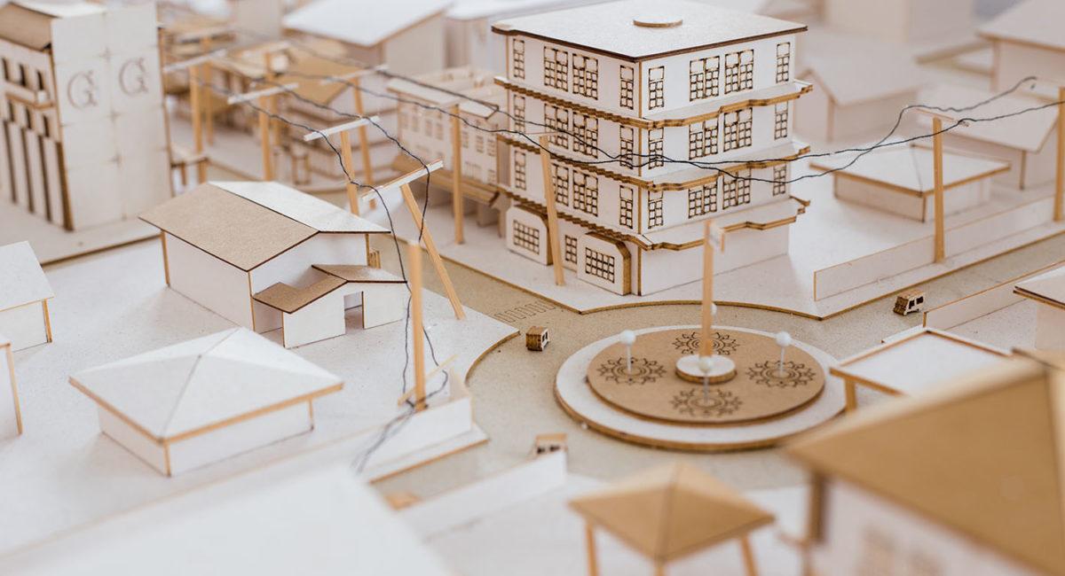 Maquette Urbanisme