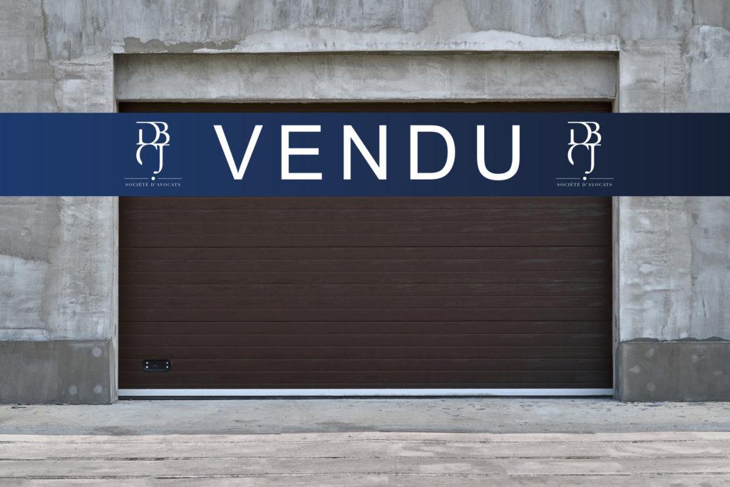 Vente aux enchères publiques - porte garage - bien vendu