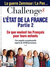 Couverture Magazine Challenges 9 septembre2021